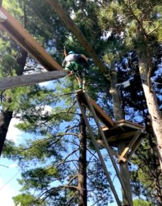 Wisp Ropes course