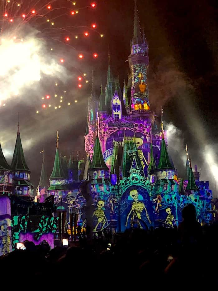 Disney's Not So Spooky Spectacular Magic Kingdom Fireworks