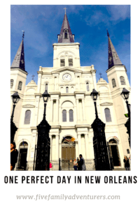 One Day Itinerary New Orleans