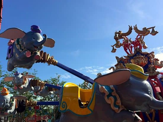 Dumbo Ride, Magic Kingdom