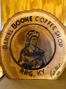 Daniel Boone Coffee Shop Kentucky