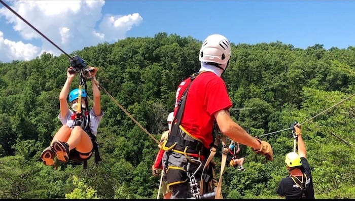 Red River Gorge, Zip-Line Kentucky
