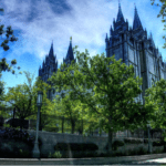 Picture of Salt Lake City Temple, Utah